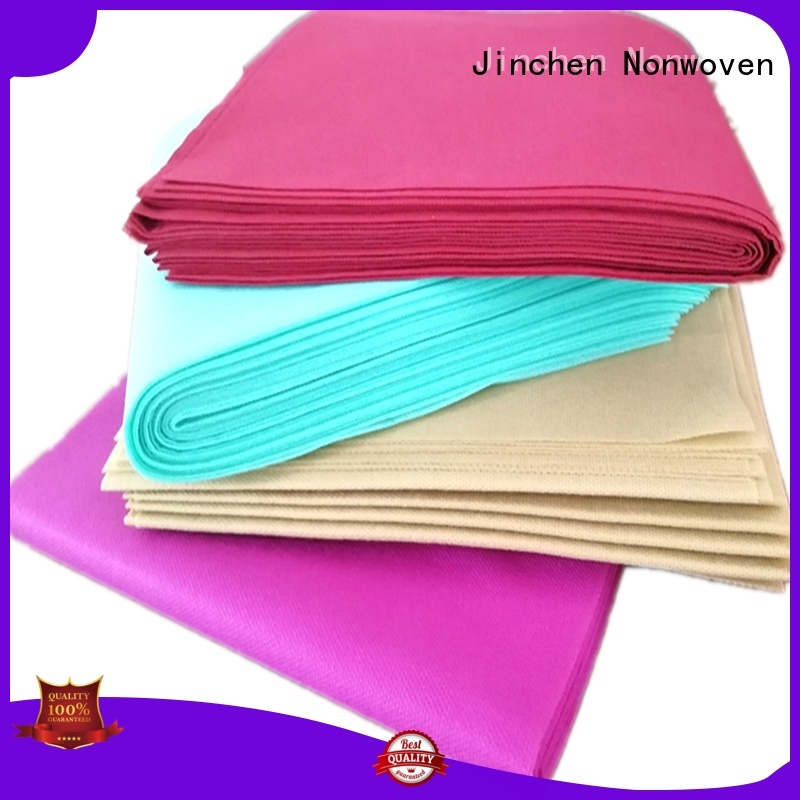 Jinchen wholesale fabric table cover supplier for dinning room