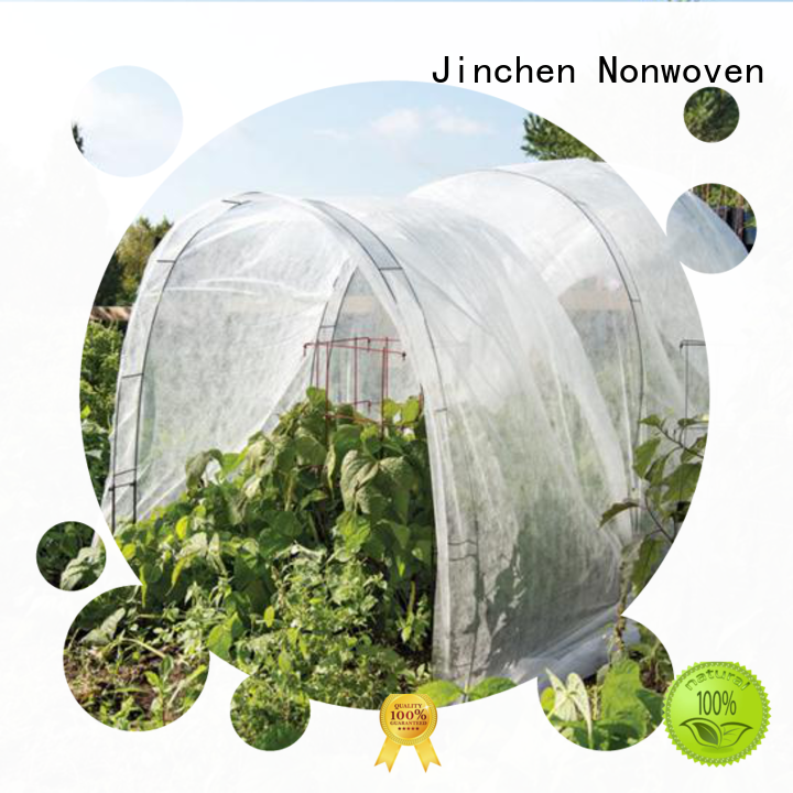 Jinchen professional pp non woven fabric ground treated for tree