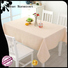 waterproof fabric table cover wholesale for sale
