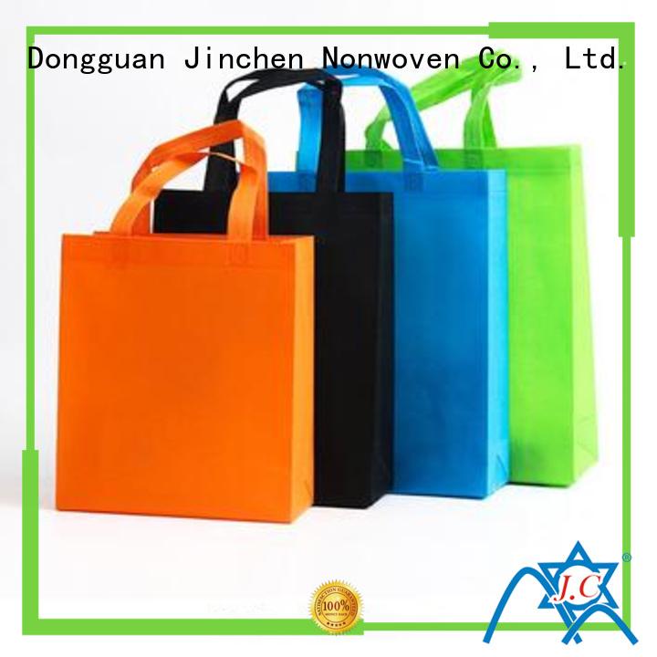 recyclable u cut non woven bags handbags for supermarket