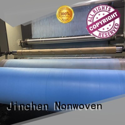 Jinchen medical nonwoven fabric factory for medical products