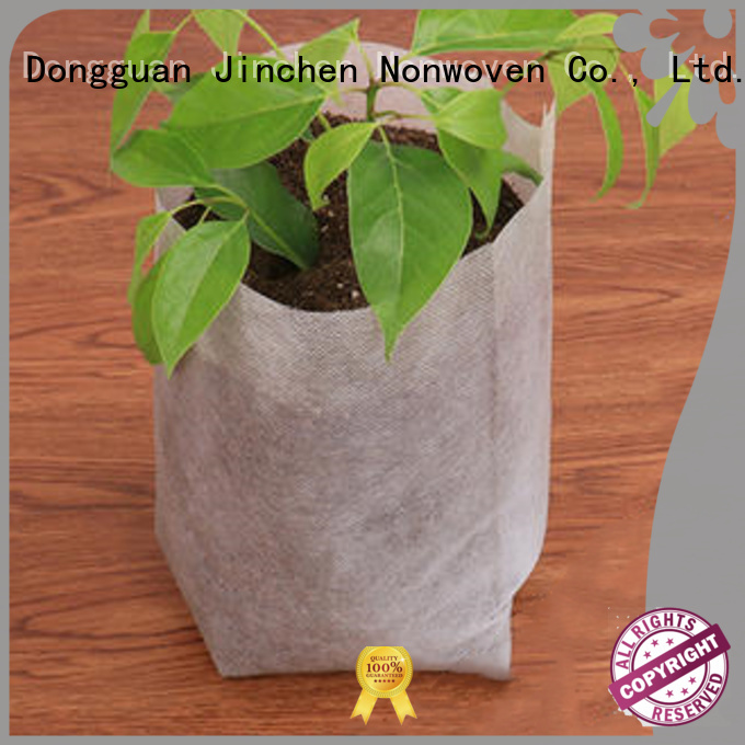 Jinchen non plastic carry bags with customized logo for sale