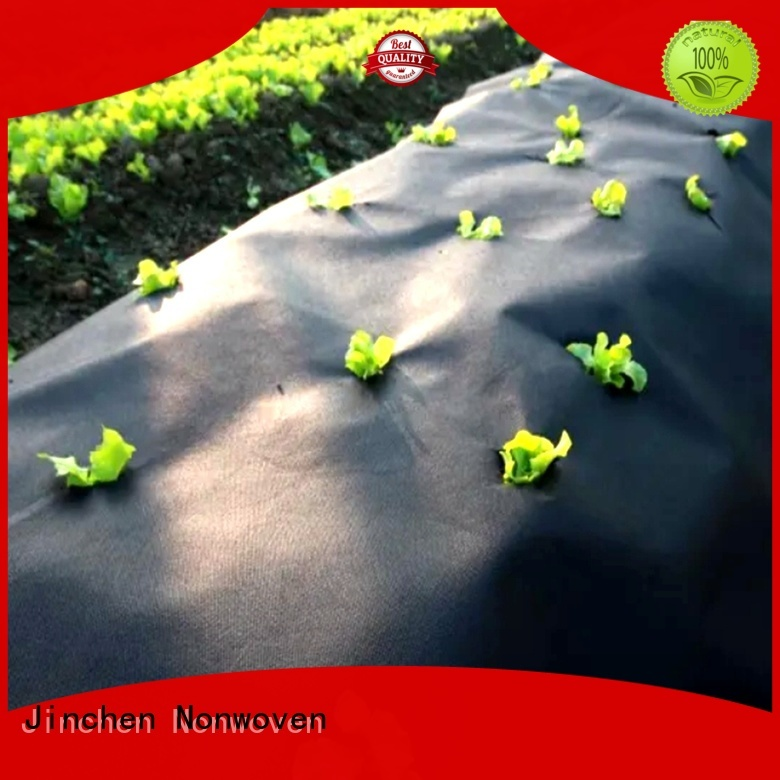 Jinchen ultra width spunbond nonwoven fabric ground treated for greenhouse