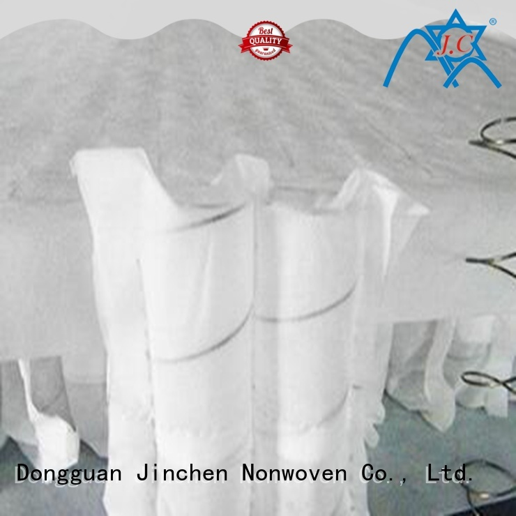 Jinchen custom non woven manufacturer tube for bed