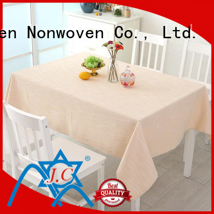 Jinchen wholesale nonwoven tablecloth with printing for sale