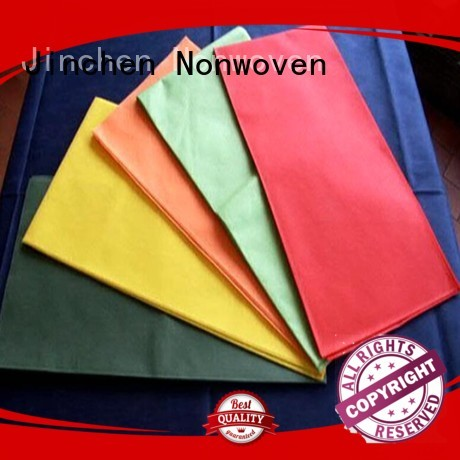 wholesale non woven table covers with printing for sale