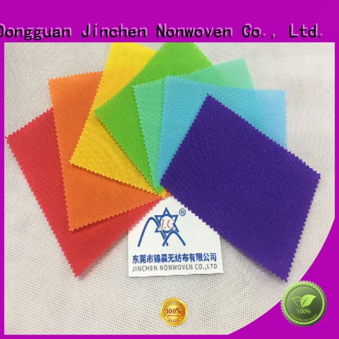 Jinchen reusable pp spunbond nonwoven fabric manufacturers for furniture