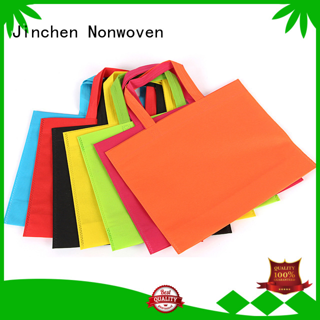 Jinchen non woven fabric bags for busniess for sale