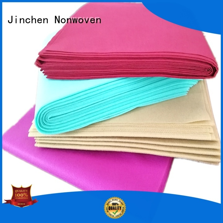 Jinchen tnt tablecloth for busniess for restaurant